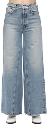 Mother The Enchanter Flared Cotton Denim Jeans