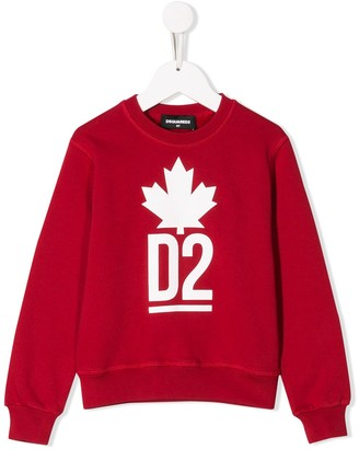 DSQUARED2 D2 logo jumper