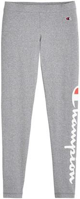 Champion Cotton Mix Leggings with Logo on Leg