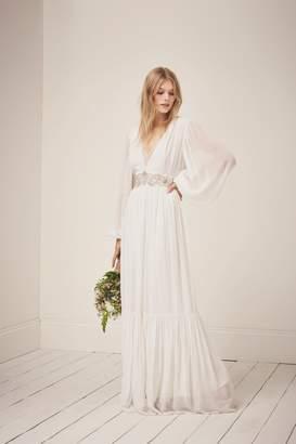 French Connenction Cari Sparkle Maxi Wedding Dress