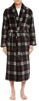 Majestic International Plaid Fleece Robe