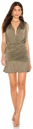 Krisa Drape Skirt Tank Dress