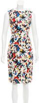 Carolina Herrera Printed Sleeveless Dress