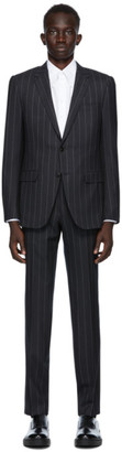 Ermenegildo Zegna Grey Striped City Suit