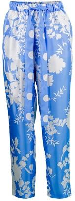 Maison Common Drawstring Printed Pant