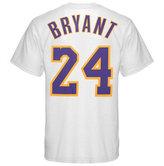 adidas Men's Los Angeles Lakers Kobe Bryant Player T-Shirt