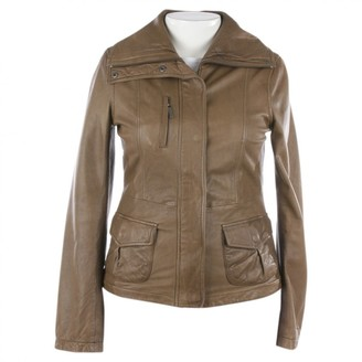 Vince Green Leather Jackets