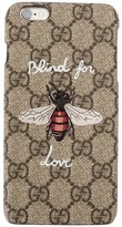Gucci Blind for Love iPhone 6 Plus case - women - Plastic - One Size