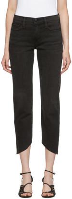 Frame Grey Le Nouveau Straight Jeans
