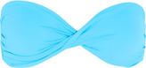 Melissa Odabash Martinique Bandeau Bikini Top - Sky blue