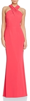 JS Collections Cross-Front Gown