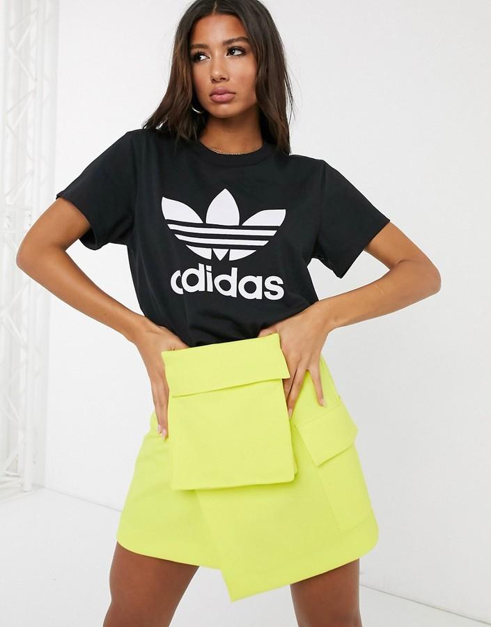 adidas Boyfriend t-shirt in black
