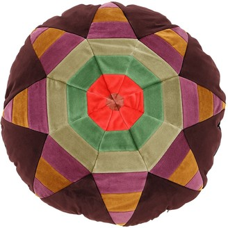 Christina Lundsteen LOLA ROUND COTTON VELVET PILLOW