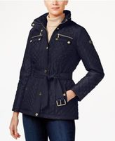 MICHAEL Michael Kors Belted Quilted Jacket