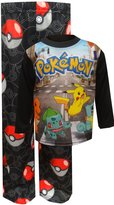 Pokemon And Friends Black Pajamas for boys