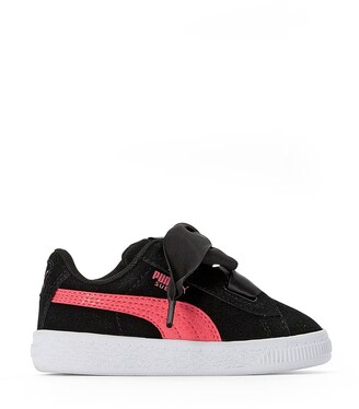 Puma Infants Heart Circles Inf Suede Trainers