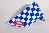 Winware Coloured Neckerchief Big Blue/White Check