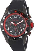 Redline Red Line Men's RL-60057 Chronograph Dial Textured Silicone Watch