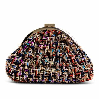 Jessica McClintock Jessica Boucle Frame Pouch