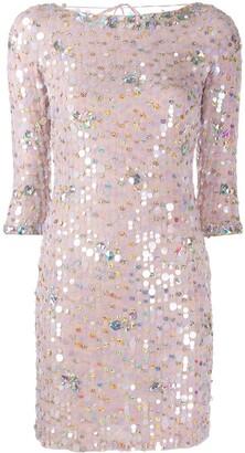 Blumarine paillette cocktail dress