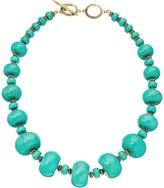 Lauren Ralph Lauren Graduated Rondell Beaded Collar Necklace Necklace