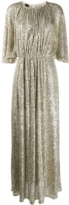 Pinko Sequin Embroidered Dress