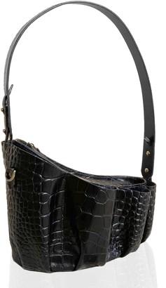 Mandel Store 2020 Bag Black Croc Mat