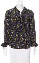 Belstaff Floral Long Sleeve Top