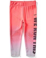 Nike Little Girls 2T-6X Dri-FIT Sport Essentials Verbiage Leggings