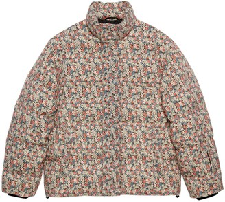 Gucci Liberty floral wool down jacket