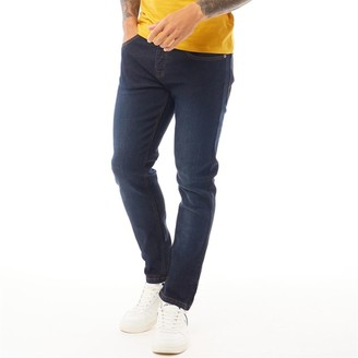 Loyalty And Faith Mens Clubs Skinny Fit Jeans Dark Wash