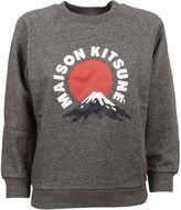 Kitsune Grey Mont Fuji Sweatshirt