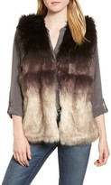 Sole Society Women's Ombre Faux Fur Vest
