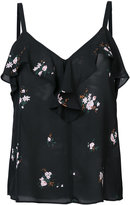 A.L.C. floral print top - women - Silk - 2