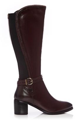 Moda In Pelle Saschana Burgundy Leather