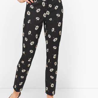 Talbots Hampshire Ankle Pants - Curvy Fit - Floral