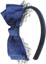 Polka Dot Grosgrain Headband