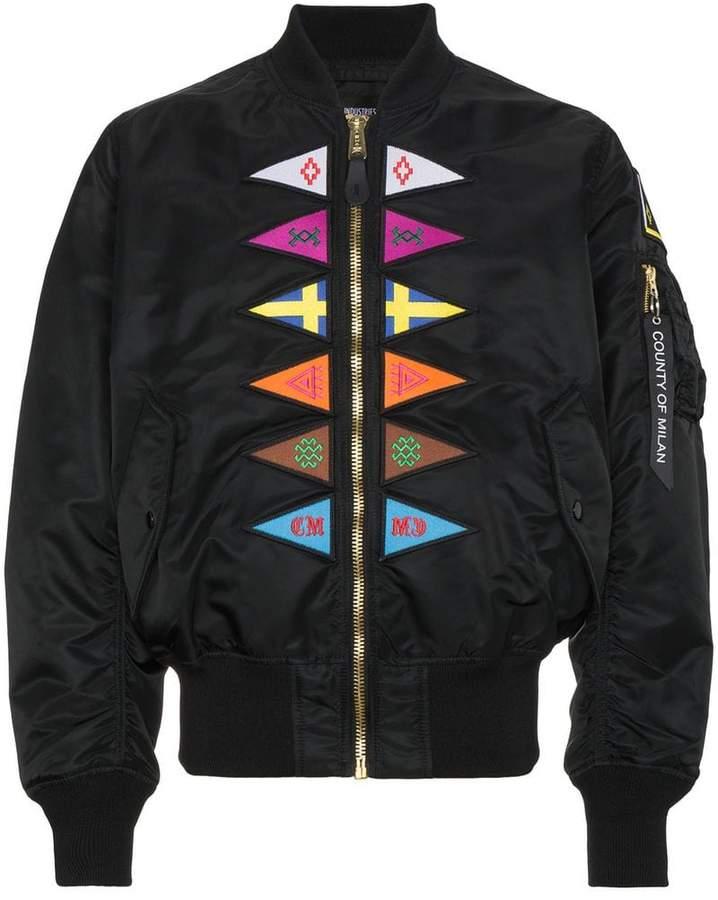 Marcelo Burlon County of Milan Flags Alpha MA1 bomber jacket