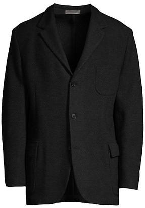 Corneliani Virgin Wool Knit Sportcoat