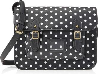 Miss Lulu Women's LT1665D2 BK Handbag