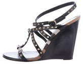 Burberry Towney Spiked Wedges