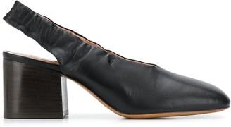 Marni Slingback Ankle Pumps