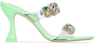 Sophia Webster Ritzy 85mm crystal-embellished sandals