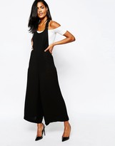 Whistles Bey Crepe Jumpsuit with Pockets