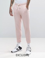 Puma Waffle Joggers In Pink Exclusive To Asos