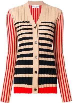 Sonia Rykiel striped knit cardigan