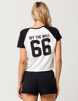 Vans Sporty Crop Womens Raglan Tee