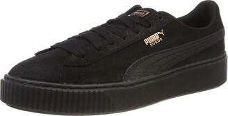 Puma Black Platform Shoes For Women