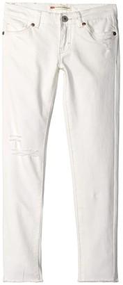 Levi's Kids Kids 710 Color Jeans (Toddler) (White) Girl's Jeans