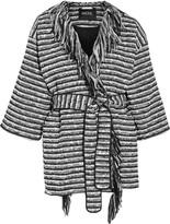 Raoul Fringed bouclé coat